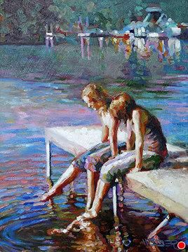Silver Lake Afternoon by Chuck Weber
