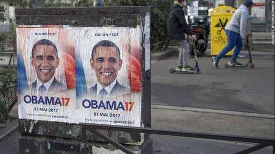 Yes we can... elect Obama president of France? A guerrilla campaign is giving it a try 😲 http://www.cnn.com/2017/02/24/europe/france-obama-17-president-trnd/index.html #TRAVEL #BIZBoost 🚀