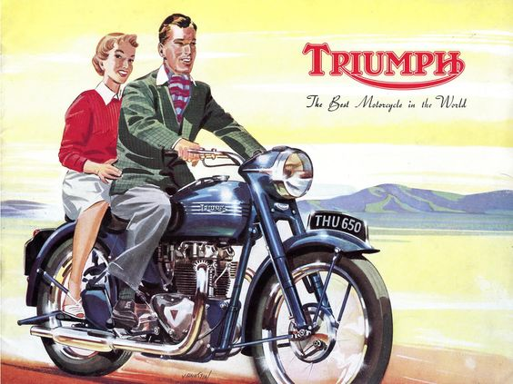 Customisation Ep 1 Le Bobber Vintage Motorcycle Posters Triumph Motorcycles Triumph Bikes