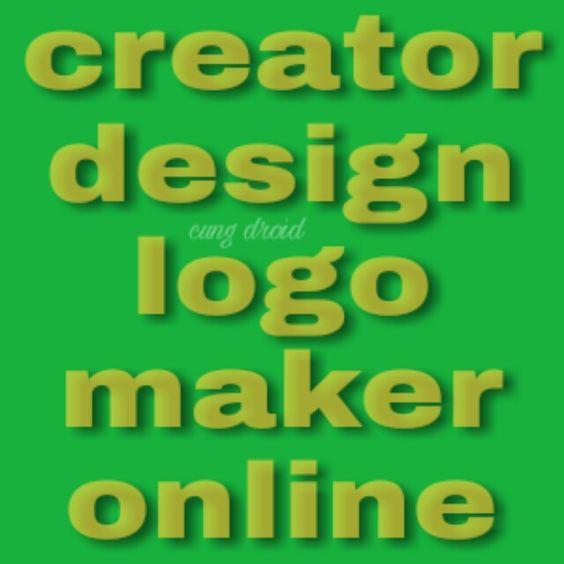 Kumpulan 15 Situs (WEB) Online Layanan Logo Gratis Dan Berbayar | Cung Droid