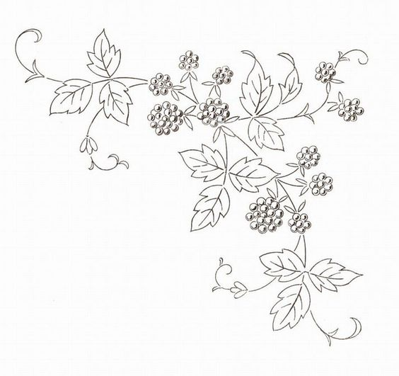 Tons of free french embroidery patterns organized by motif