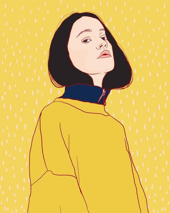 """Yellow forever, forever"""