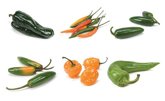 Know your chile peppers