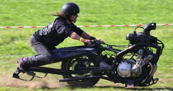 Downsizing Reaches Motorcycles