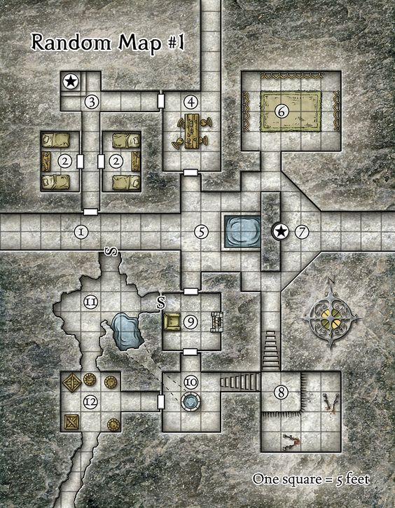 Its a random dungeon rpg maps pinterest for Floor 2 dungeon map