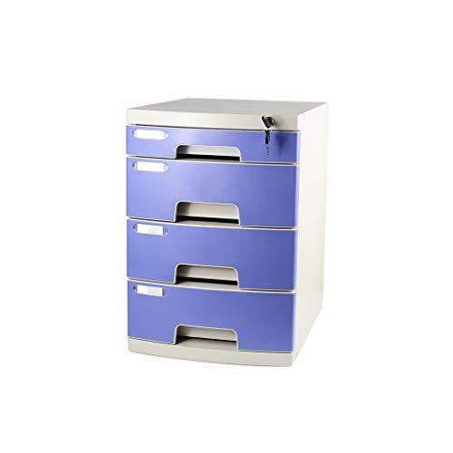 Plastic Storage Drawers Desk Storage Unit Organizer Lockable File Cabinet A4 Box For Office B Plastic Storage Drawers Storage Unit Organization Plastic Storage