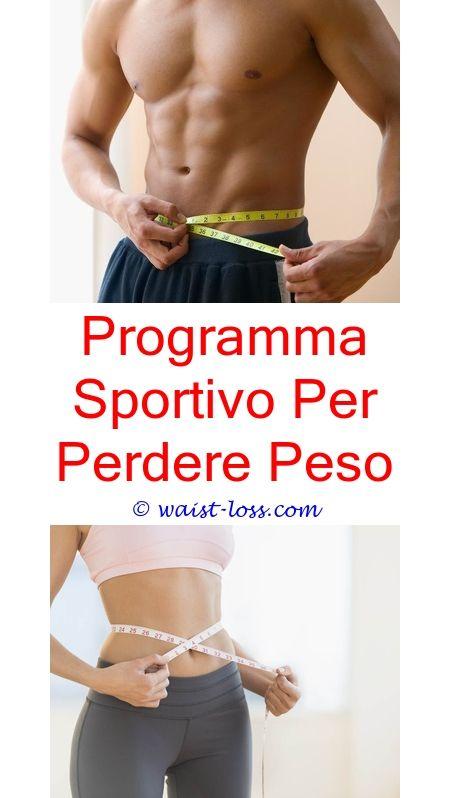 programma di dieta per perdere peso della pancia