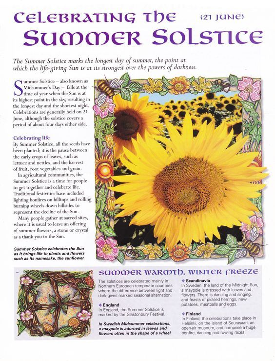 """Sister Spell Binder on Twitter: """"The Witchy Paper How to celebrate the Summer Solstice… """""""