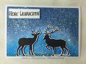 Hallo!     Weihnachten naht mit riesigen Schritten und es wird doch so langsam mal Zeit ein paar Karten zu werkeln. Jedes Jahr wieder nehme...