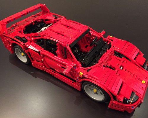 Ferrari F40 Ferrari F40 Ferrari Lego Cars