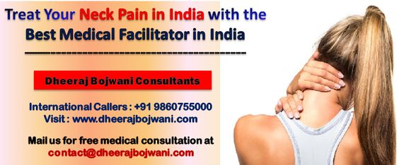 neck pain treatment in india