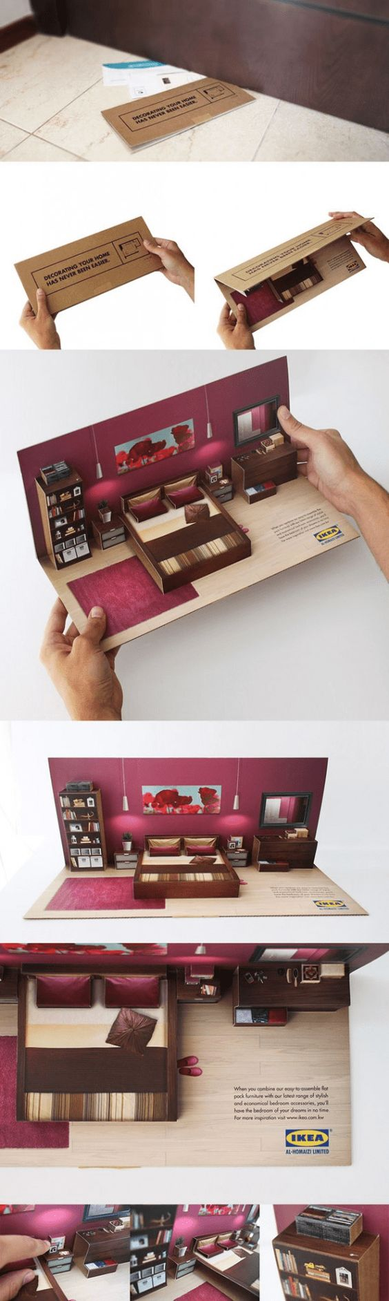 IKEA #Packaging #Design Inspirations, who wouldn't want to receive this #packaging promo? PD