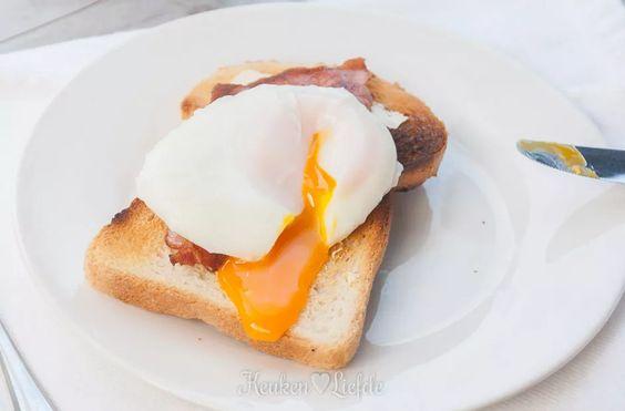 Gepocheerde eieren - zo doe je dat.