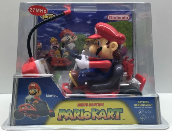 (TAS033337) - 2004 NKOK Nintendo Radio Control Mario Cart