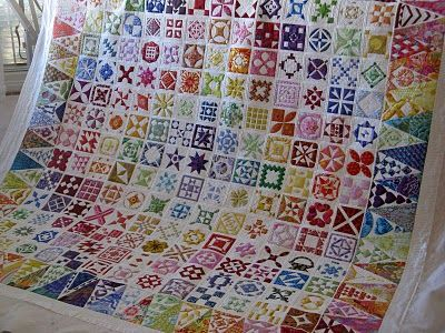Wow! That quilt is incredible.