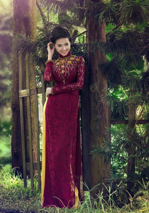 Image result for áo dài sang trọng