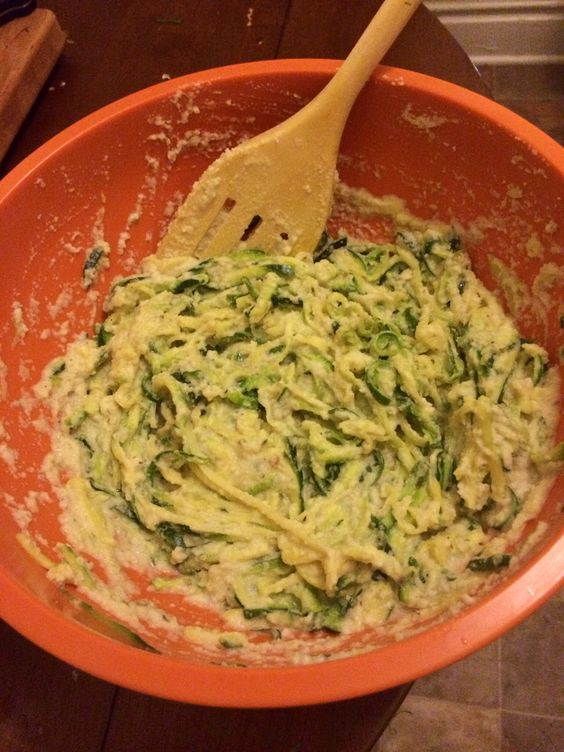 """Creamy Cauliflower """"Alfredo"""" with Zucchini """"Noodles."""" When putting the cauliflower in my food processor-I added  about 1/4c. (very small/thin) potato strips that I had baked on high in 2 tbsp olive oil-for even more (healthy) richness. Definitely a new favorite dish!"""