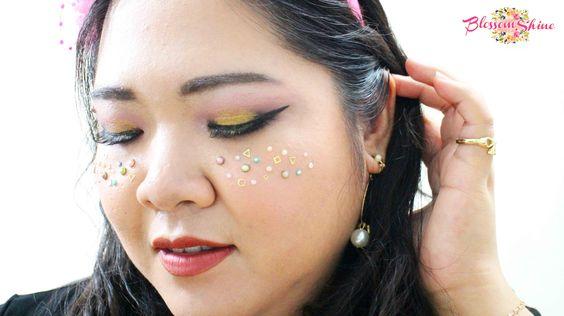 Pink & Gold - Festive Birthday Makeup Look