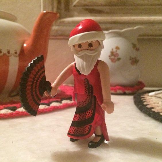 Papa Noel versión 2014. #playmobil #papanoel #navidad #christmas #coghlan