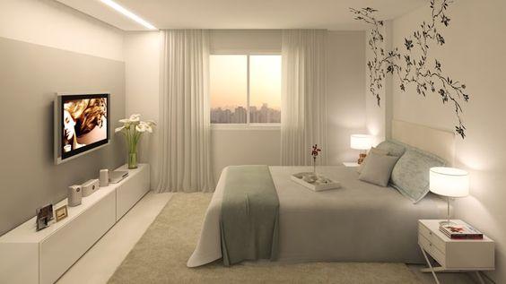Quando falamos em quarto, queremos pensar num lugar de refúgio, paz, descanso, não é? Além de ser um dos lugares mais privados na sua casa, ...: