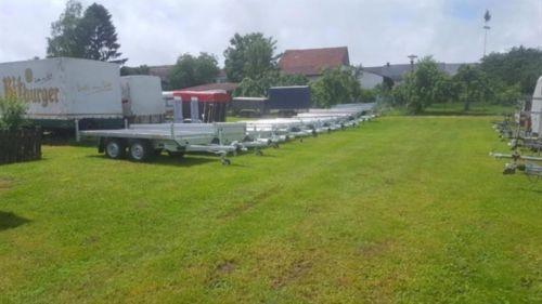 HG SARIS Kofferanhänger FW 2000 Neu Tandem 2 M HOCH in Rheinland-Pfalz - Bitburg…