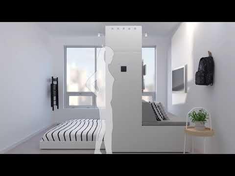 Robotic Furniture Ikea S New Big Thing For Tiny Spaces Amenagement Petit Espace Petit Espace De Vie Meubles Pour Petits Espaces