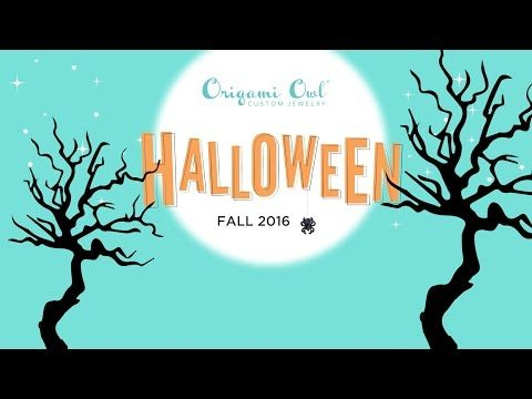 Origami Owl's Halloween 2016 Collection - YouTube Available Tuesday 9/13 at 1p ET! Dreambig.origamiowl.com  #Halloween #jewels