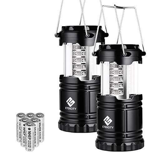 Etekcity 2 Pack Portable Led Camping Lantern Flashlights Https Www Amazon Com Dp B00xm8htis Ref Cm Sw Led Camping Lantern Lantern Flashlight Led Lantern