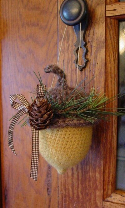 45 cool acorn d cor ideas for your home 45 cozy acorn for Acorn decoration ideas