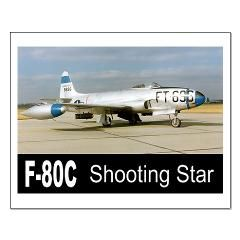 F-80 SHOOTING STAR FIGHTER Small Poster> F-80 Shooting Star Fighter> Zoom Wear