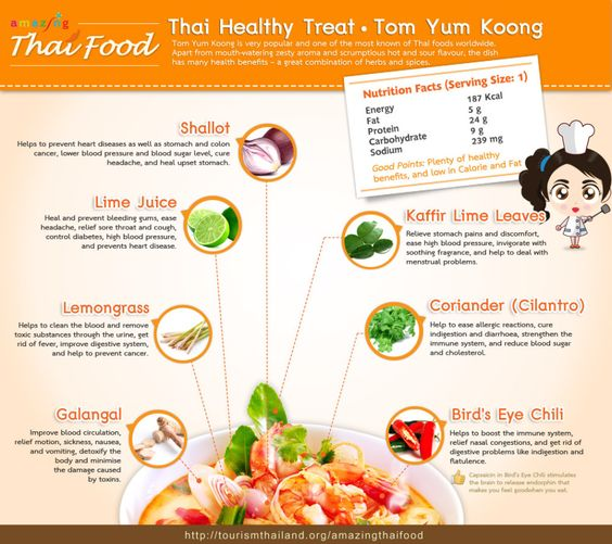 Tourism Authority of Thailand showcases Thai Food to the world through ten cool infographics |