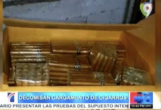 Decomisan Cargamento De Cigarros Llenos De Cocaína En El Aeropuerto Del Cibao