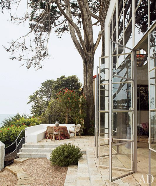 Architectural Digest-great steel windows: