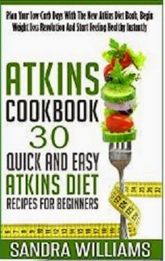 Rock the Kindle Book Reviews and Promotions: Free for a Limited Time Only- Atkins Diet Cookbook