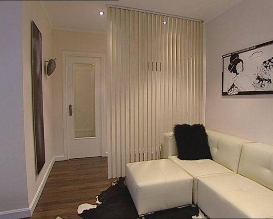Cortinas verticales hacen de separador podr amos poner for Que cortinas poner en el salon