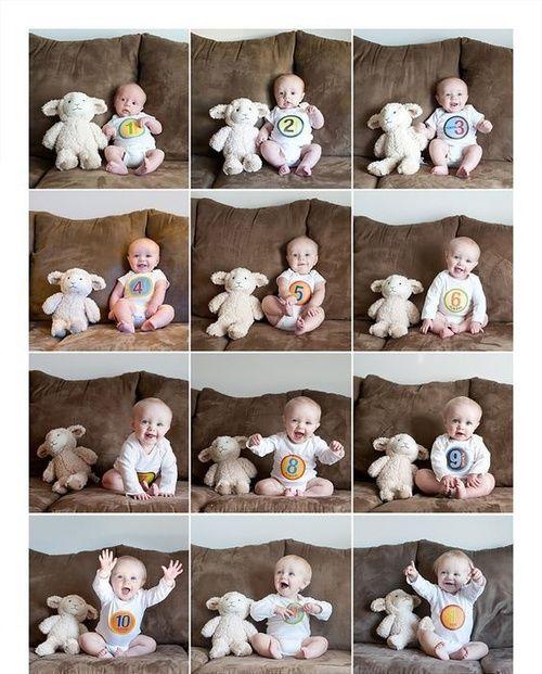 Идеи для фото детей до года | Впервые мама