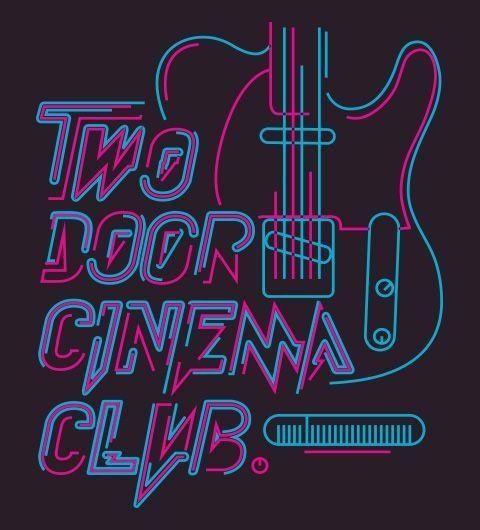 Resultado de imagen de two door cinema club logo