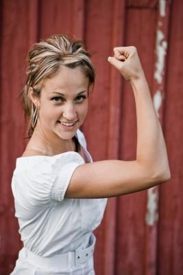 Exercises for Tightening Underarm Skin- so useful to get rid of extra flab. That would be nice! LOL!