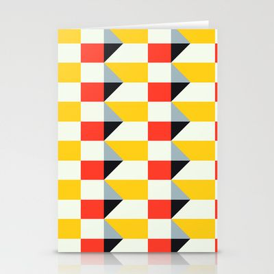 Crispijn II Pattern Stationery Cards by Stoflab