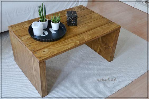 Couchtisch aus Paletten und Bauholz - coffee table from pallets