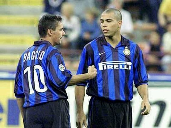 #Ronaldo and #Baggio #inter