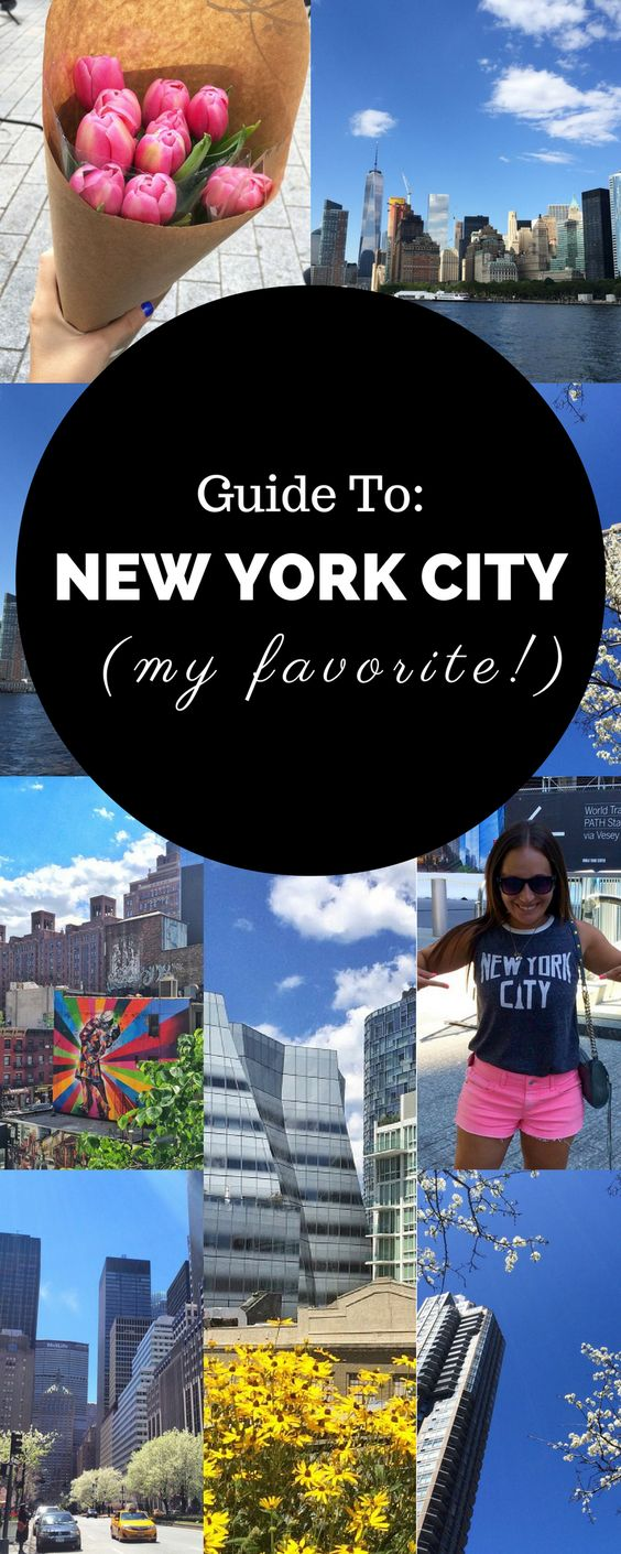 Check out what to do in New York City, as well as where to eat and what sites to see!
