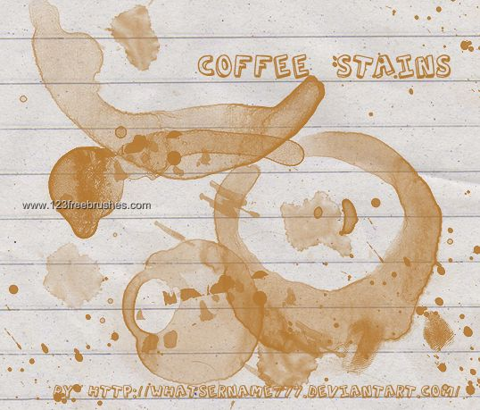 Coffee Stains 8 - Download  Photoshop brush https://www.123freebrushes.com/coffee-stains-8-2/ , Published in #GrungeSplatter. More Free Grunge & Splatter Brushes, http://www.123freebrushes.com/free-brushes/grunge-splatter/ | #123freebrushes