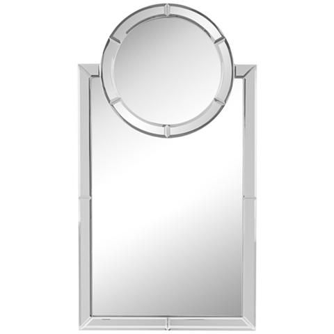 Vistula 44 High Frameless Wall Mirror 2w024 Lamps Plus Mirror Mirror Wall Lamps Plus