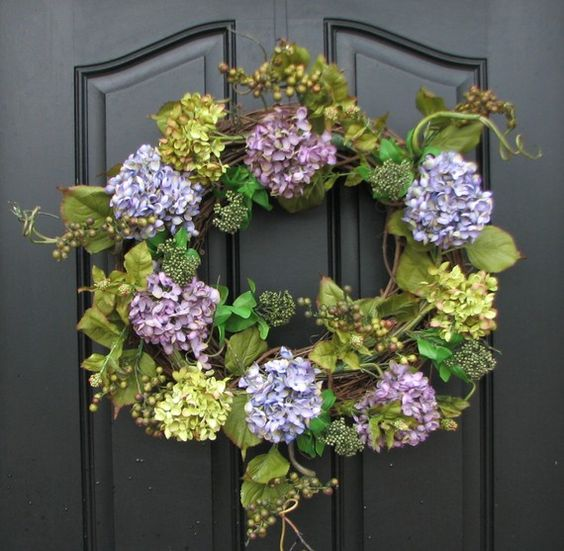 spring wreath idea