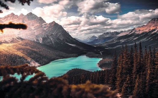 Desktop Hintergrund Landschaft