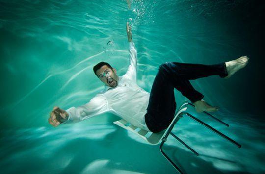 Unterwasser-Fotoshooting   Jochen Schweizer