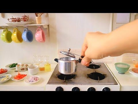 S2 Ep62 Pressure Cooker Cooking Chiken Rice Kitchen Set Real Cooking Food Youtube Tiny Cooking Doll Diy Crafts Kids Toy Kitchen