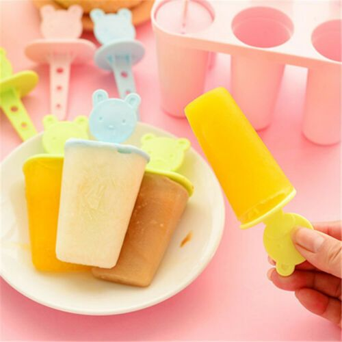 4 cell ice cream mold popsicle maker lolly mould tray pan diy JP.yu