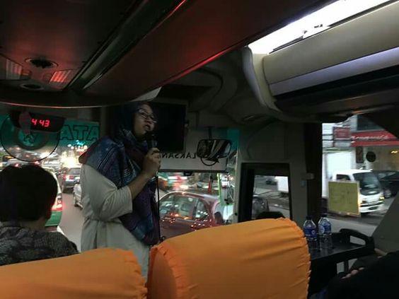 Dear guide Putri,every day traffic jam, Bandung,Indonesia